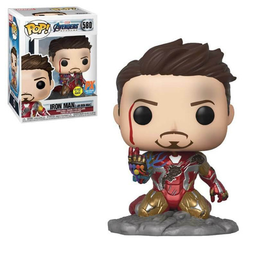 Funko Pop! Marvel - Avengers: Endgame - I am Iron Man (#580) [GITD} PX Exclusive