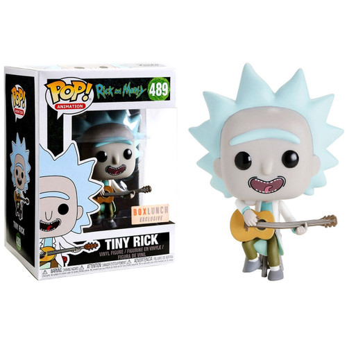 Funko Pop! Animation: Rick and Morty - Tiny Rick (#489) Box Lunch Exclusivesic