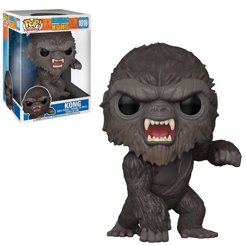 "Funko Pop! Movies: Godzilla vs Kong - Kong (#1016) 10"" Super-sized Pop"