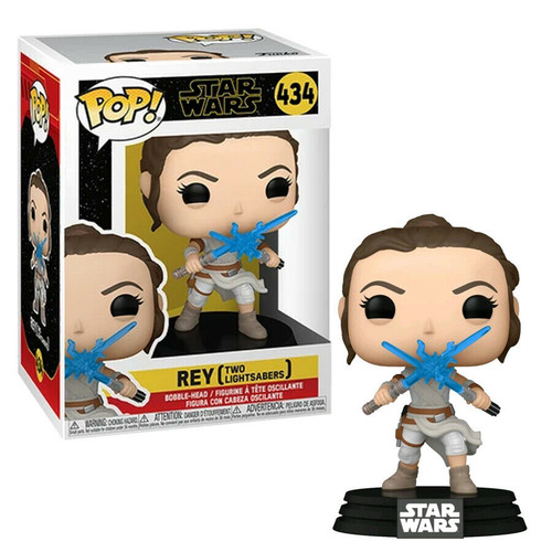 Funko Pop! Star Wars: The Rise of Skywalker - Rey with Two Lightsabers (#434)