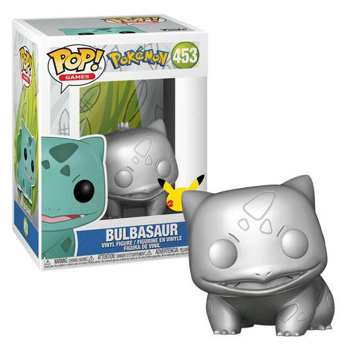 Funko Pop! Games: Pokemon 25th Anniversary- Bulbasaur [SV/MT] (#453)