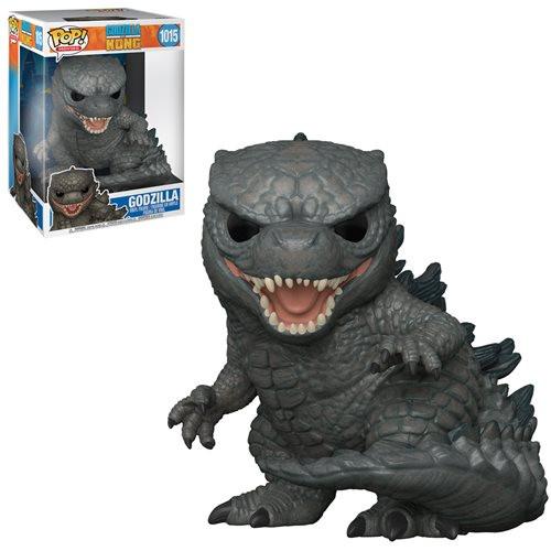 """Funko Pop! Movies: Godzilla vs Kong - Godzilla (#1015) 10"""" Super-sized Pop"""