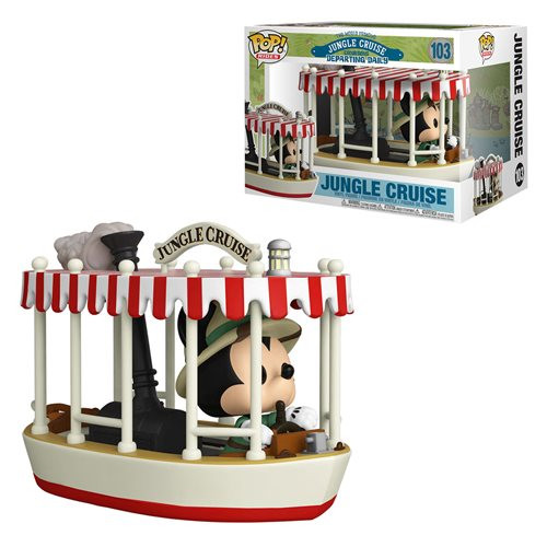 Pop! Rides: Disney Jungle Cruise with Skipper Mickey (#103)