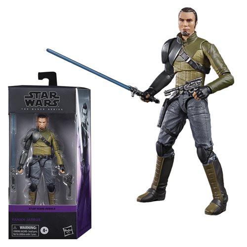 Hasbro - Star Wars  The Black Series Kanan Jarrus 6-inch Action Figure