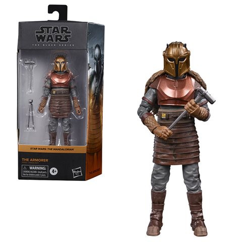 Star Wars  The Black Series: The Armorer (The Mandalorian) 6-inch Action Figure