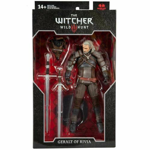 The Witcher 3: Wild Hunt - Geralt of Rivia  (Series 1 Action Figure)