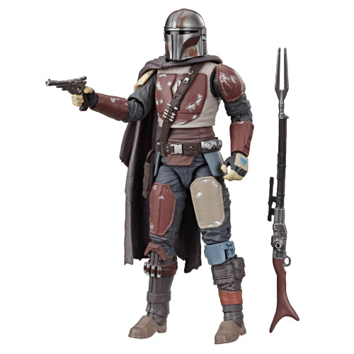Star Wars  The Black Series - The Mandalorian 6-inch Action Figure