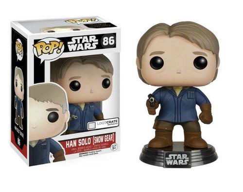 Funko POP! StarWars: The Force Awakens - Han Solo [Snow Gear] (86) Loot Crate Exclusive