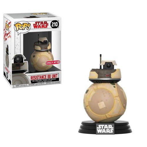 Funko POP! Star Wars: The Last Jedi - Resistance BB Unit (#210) Target Exclusive