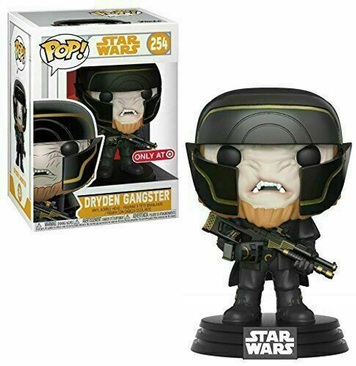 Funko POP! Star Wars - Solo: A Star Wars Story - Dryden Gangster (#254) Target Exclusive