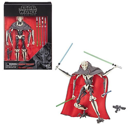 Star Wars The Black Series General Grievous 6-Inch Action Figure