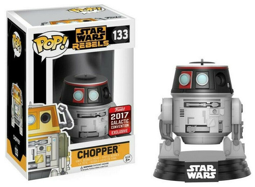 Funko POP! Star Wars:  Rebels - Chopper (#133) 2017 Galactic Convention Exclusive