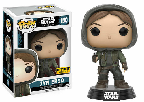 Funko POP! Star Wars:  Rogue One - Jyn Erso (#150) Hot Topic Exclusive