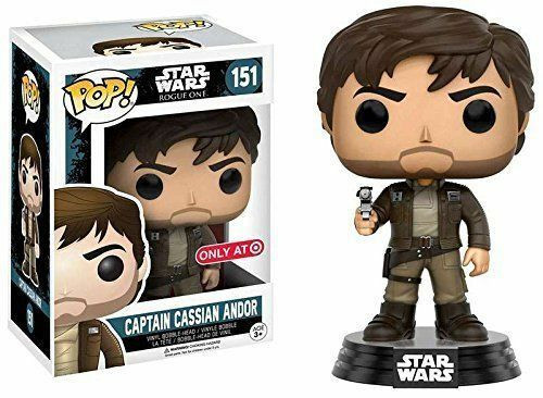 Funko POP! Star Wars:  Rogue One - Captain Cassian Andor (#151) Target Exclusive