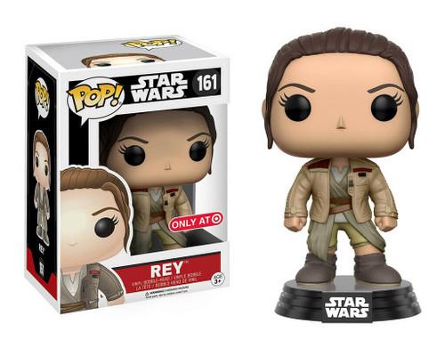 Funko POP! Star Wars:  The Force Awakens - Rey (#161) Target Exclusive