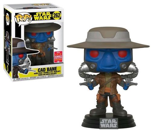 Funko Pop! Star Wars: The Clone Wars - Cad Bane (#262) 2018 Summer Convention