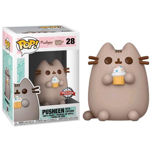 Funko Pop! Pusheen - Pusheen with Cupcake (#28) Special Edition