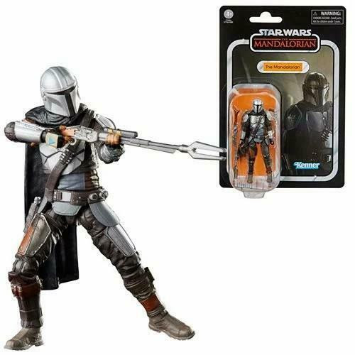 Star Wars The Vintage Collection - The Mandalorian (Full Beskar) 3 3/4-Inch Action Figure