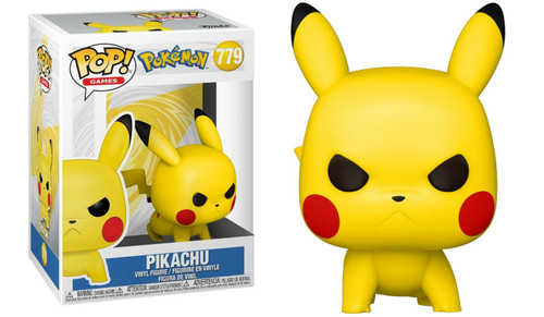 Funko Pop! Games: Pokemon - Pikachu (Attack Stance) (#779)