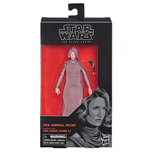 Star Wars The Black Series - Vice Admiral Holdo (6-Inch Action Figure)