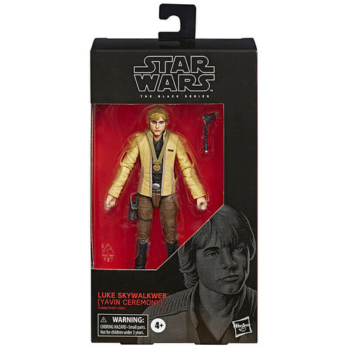 Star Wars The Black Series  - Luke Skywalker (Yavin Ceremony) 6-Inch Action Figure