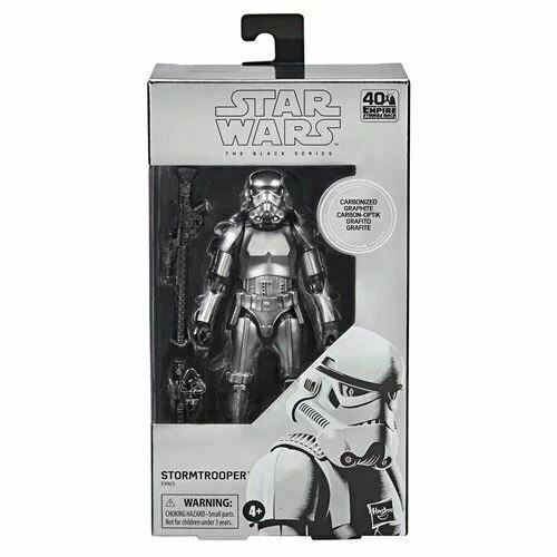 Star Wars The Black Series - Carbonized Stormtrooper (6-Inch Action Figure)
