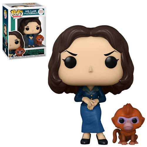 Funko Pop! TV: His Dark Materials - Mrs. Coulter with The Golden Monkey (#1111)