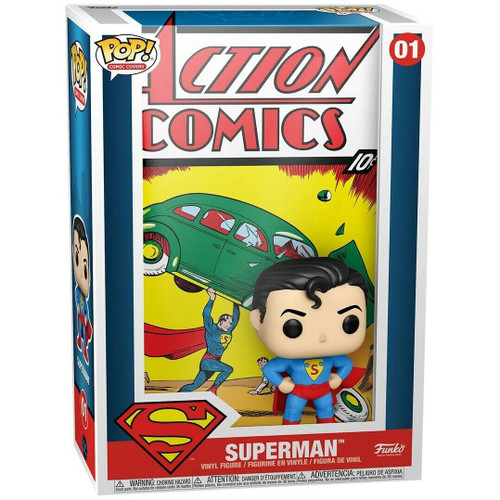 Funko Pop! Comic Covers - Superman Action Comics (01)
