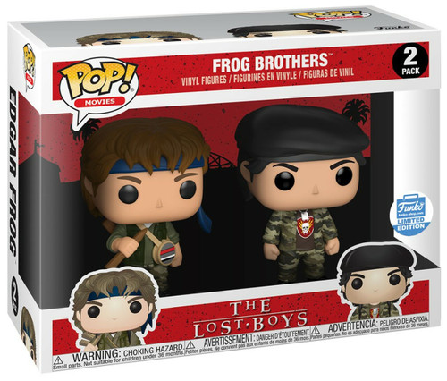 Funko Pop! Movies: The Lost Boys - Frog Brothers  (2 pack) Funko Limited Edition