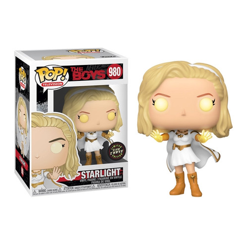 Funko Pop! TV: The Boys - Starlight (#980) Limited Glow CHASE Edition