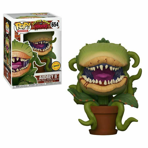 Funko Pop! Movies: Little Shop of Horrors - Audrey II (#654) Limited CHASE Edition