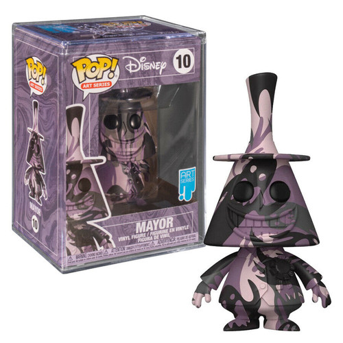 Funko Pop! Art Series - Disney: The Nightmare Before Christmas - Mayor with Funko Premium Case (#10)
