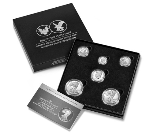 2021 Limited Edition Silver Proof Set - American Eagle Collection (21RCN)