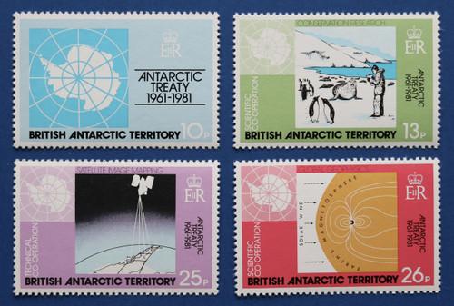 British Antarctic Territory 82-85