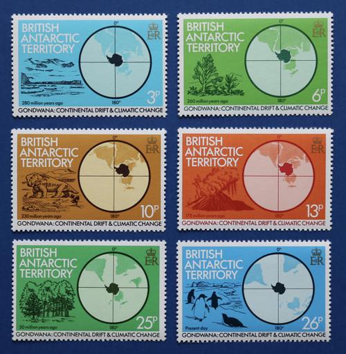 British Antarctic Territory 86-91