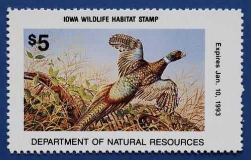 1992 Iowa Wildlife Habitat Stamp (IAH15)
