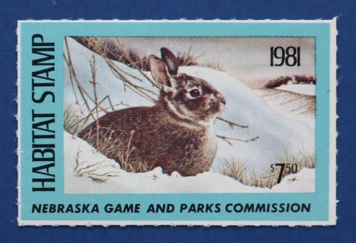 1981 Nebraska Habitat Stamp (NEH05)