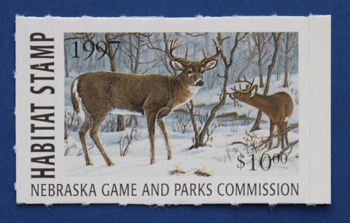 1997 Nebraska Habitat Stamp (NEH21)