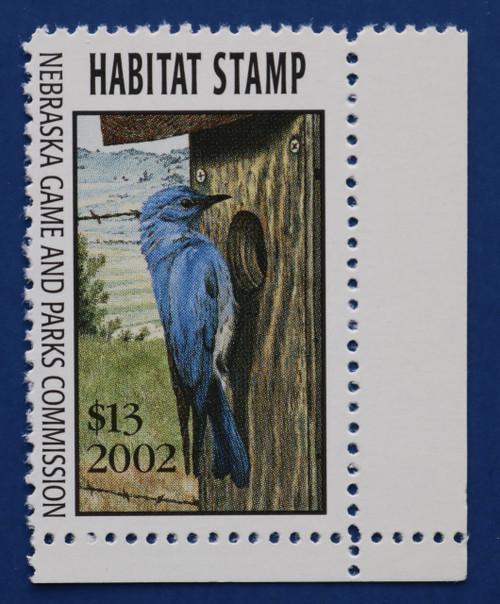 2002 Nebraska Habitat Stamp (NEH25)