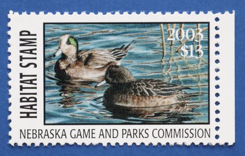 2003 Nebraska Habitat Stamp (NEH27)