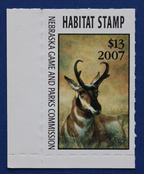 2007 Nebraska Habitat Stamp (NEH31)
