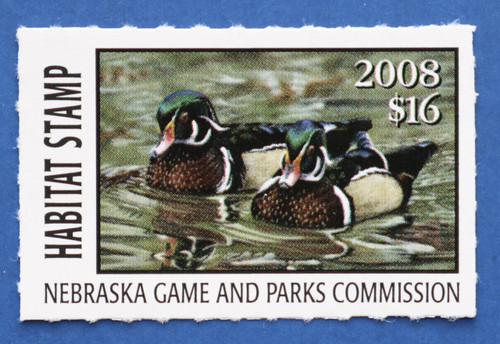 2008 Nebraska Habitat Stamp (NEH32)