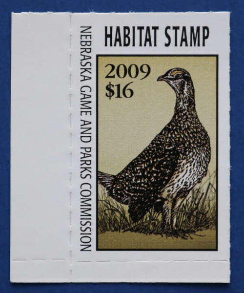 2009 Nebraska Habitat Stamp (NEH33)
