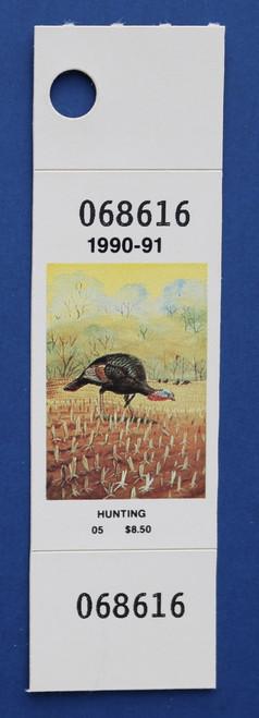 1990-91 New York Hunting Stamp (NYH32)
