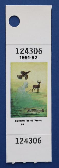 1991-92 New York Hunting Stamp (NYH37)
