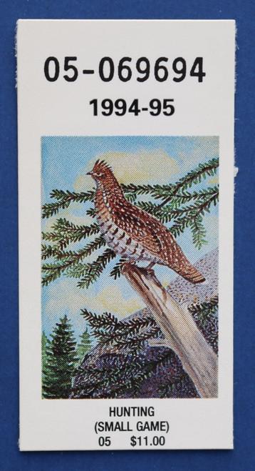 1994-95 New York Hunting Stamp (NYH50)