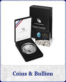 Shop Coins and Bullion