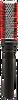 """Keratin Complex Ceramic + Ion Round Brush 2"""""""