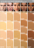 Dermablend Cover Creme SPF 30 Shade Selection Chart