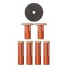 PMD Replacement Discs Orange Coarse - 6 ct